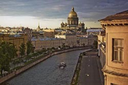 Excursions in ST.PETERSBURG and MOSCOW